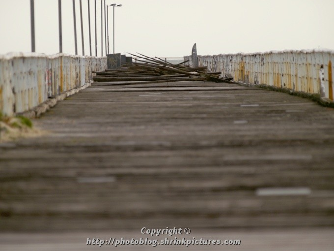 Storm Damaged Jetty II