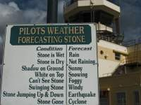 Pilots weather warning