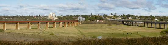 Murray Bridge Panorama