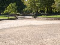 Dry Ornamental Lake